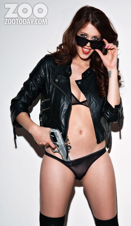 Charlotte Herbert in lingerie