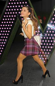 Ariana Grande - Arrives at BBC Radio1 Studio in London 07.11