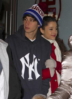 Ariana Grande in New York City 1/1/13