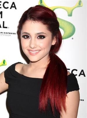 Ariana Grande Shrek Forever After premiere in New York