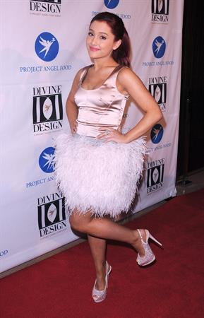 Ariana Grande Project Angel Foods 2011 Divine Design Gala in Beverly Hills 12-07-2011