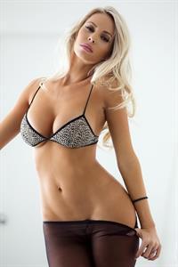 Devin Justine in lingerie