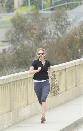 Jennifer Lawrence going to the gym in Los Angeles on June 12, 2012