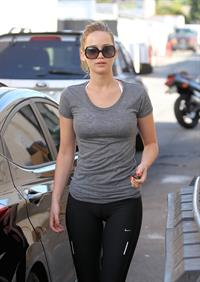 Jennifer Lawrence - Arriving At the Gym In Santa Monica - August 8, 2012