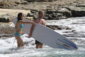 Jennifer Lawrence bikini candids in Maui 11/21/12