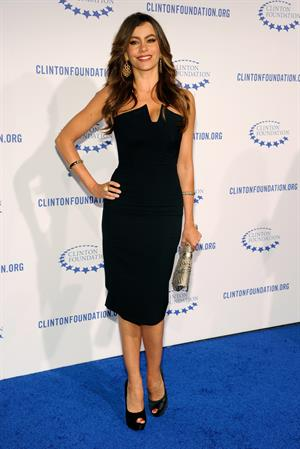 Sofia Vergara Clinton Foundations a Decade of Difference Gala in Beverly Hills on October 14, 2011