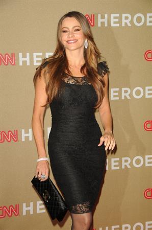 Sofia Vergara CNN Heroes an all star tribute at the Shrine Auditorium on December 11, 2011