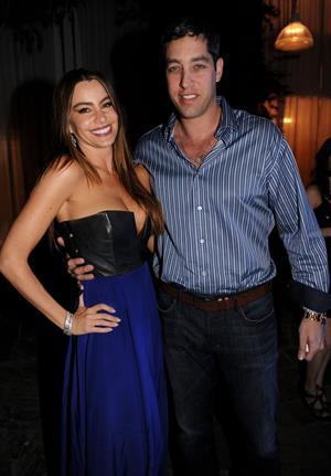 Sofia Vergara New Year's Eve Party in Miami Beach 12/31/12