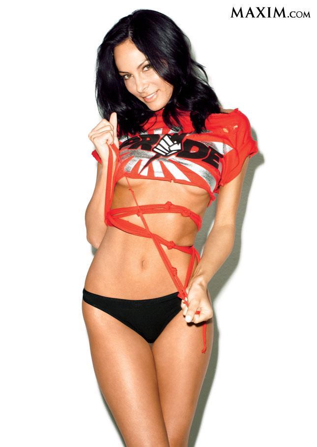 Kenda Perez in a bikini