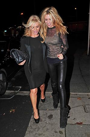 Abbey Clancy out in Liverpool on October 19, 2011