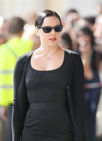 Abbie Cornish on set 1/8/2010