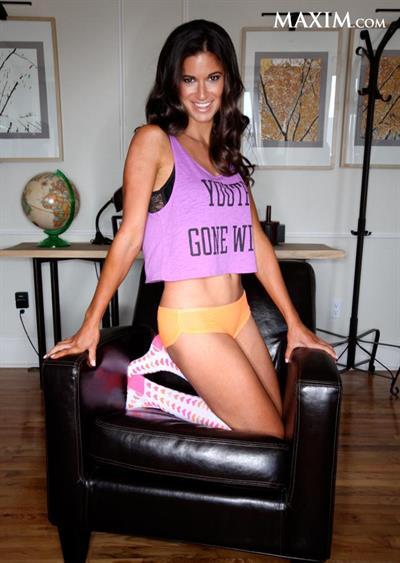 Jackie Gordon in lingerie