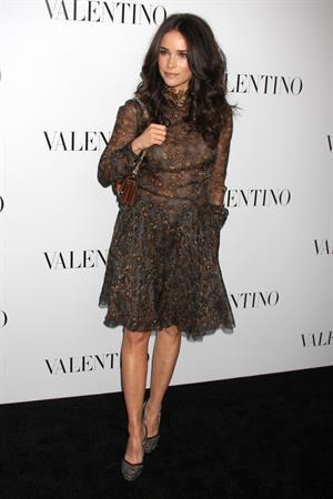 Abigail Spencer Valentino 50th anniversary and new flagship store opening in Beverly Hills on March 27, 2012