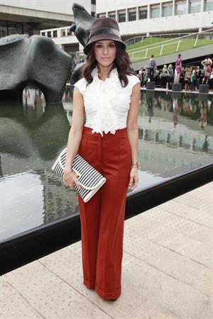 Abigail Spencer Malandrino Presentation at Mercedes Benz fashion week on September 12, 2010