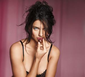 Adriana Lima Victoria's Secret 2011 Valentines Day Collection