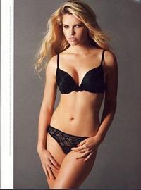 Abigail Parker in lingerie