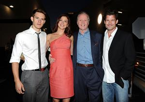 Adrianne Palicki Twentieth Century Fox 75th anniversary party held at the Fox studio lot on May 27, 2010