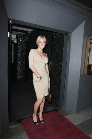Aisleyne Wallace Brows party May 31, 2011