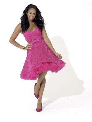 Alesha Dixon - dress photoshoot