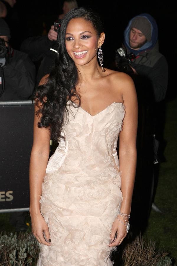 Alesha Dixon - The Sun military awards - Dec 19, 2011