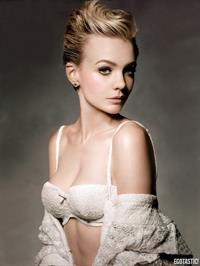 Carey Mulligan in lingerie