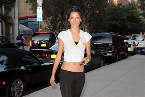 Alessandra Ambrosio in New York on July 12, 2011