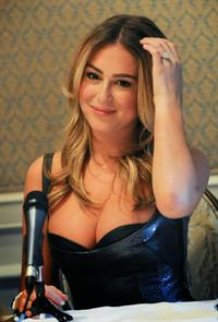 "Alexa Vega – ""Machete Kills"" Press Conference 10/6/13"