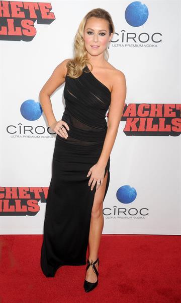 Alexa Vega attending the  Machete Kills  Los Angeles Premiere on October 2, 2013