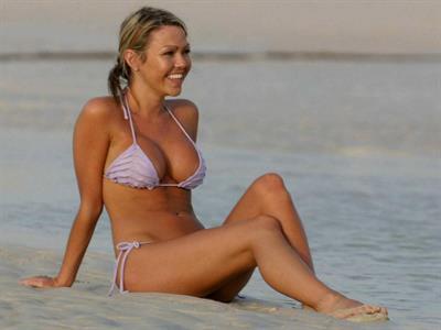 Adele Silva in a bikini