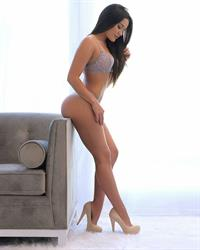 Miss Genii in lingerie