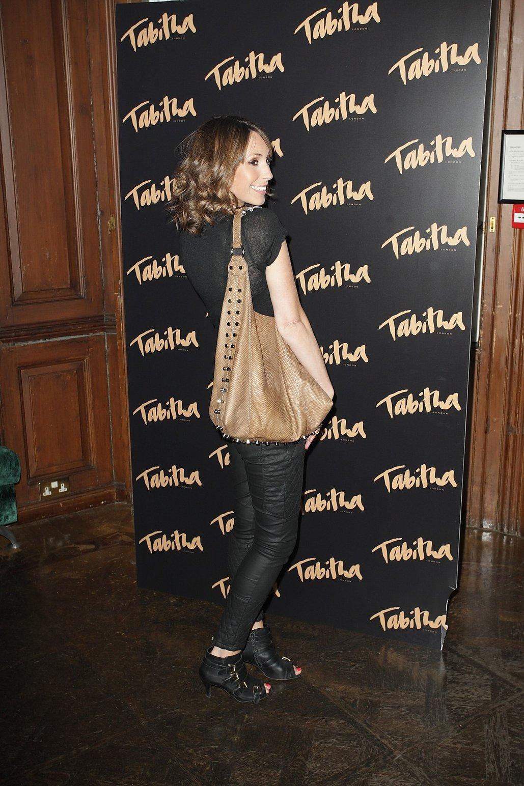 Alex Jones - Tabitha Collection Event, London - September 5 2012