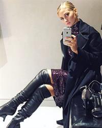 Selena Weber taking a selfie