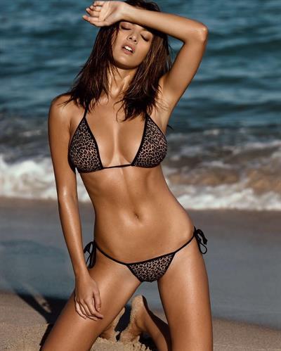 Ingrid Schneider in a bikini