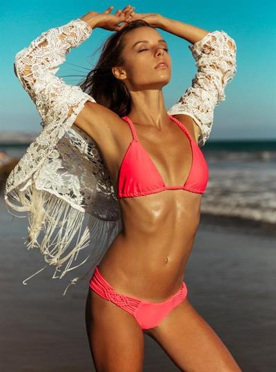 Maddie Teeuws in a bikini