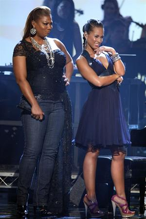 Alicia Keys 2008 American Music Awards in Los Angeles