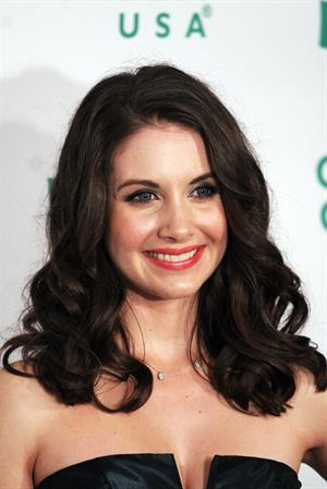 Alison Brie attends Global Green USA 8th annual Pre Oscar party at Avalon on February 23, 2011