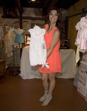 Ali Landry launching her new baby clothes collection with Belle Parish in Los Feliz 01-09-2010