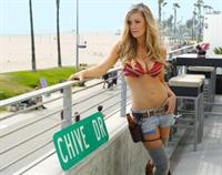 Sunny Reichert in a bikini