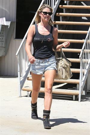 Ali Larter running some errands in Los Angeles on August 13, 2012