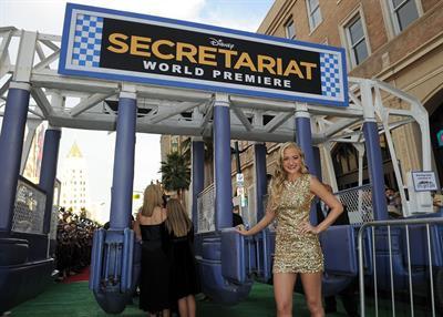 Amanda Michalka Secretariat premiere September 30, 2010