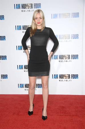 Amanda Michalka at Los Angeles premiere of I am Number Four on February 9, 2011