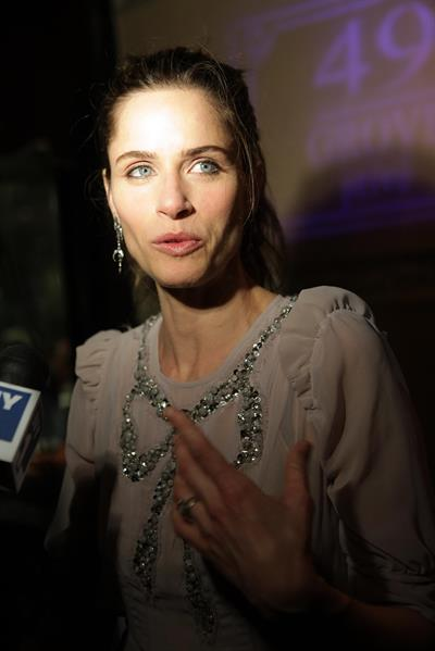 Amanda Peet at The Break of Noon opening night on November 22, 2010