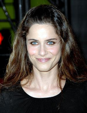 Amanda Peet at the premiere of Hancock
