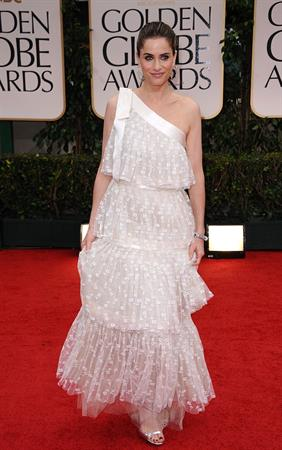 Amanda Peet 69th annual Golden Globe Awards on January 15, 2012