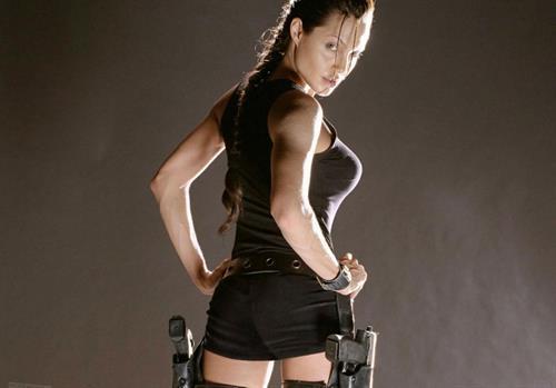 Angelina Jolie - ass