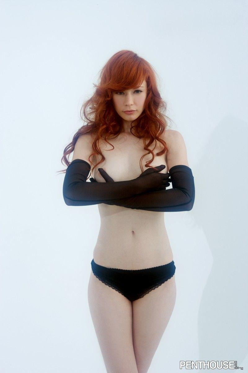 Justine Jolie in lingerie
