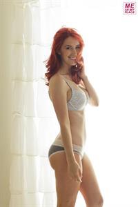 Meg Turney - Me in My Place - grey underwear