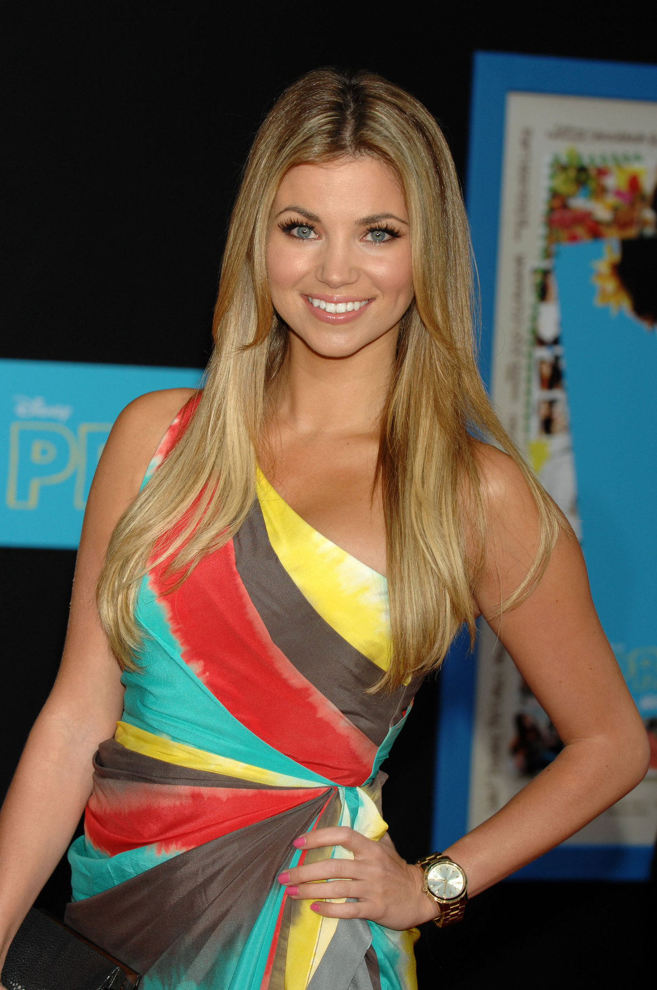 Amber Lancaster Los Angeles premiere of Disney's Prom held at the El Capitan Theatre on April 21, 2011