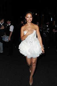 Amelle Berrabah DG party on September 21, 2010
