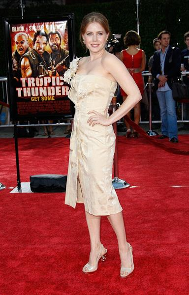 Amy Adams Los Angeles premiere of Tropic Thunder